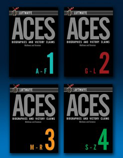 Luftwaffe Aces - Biographies & Victory Claims Full Set