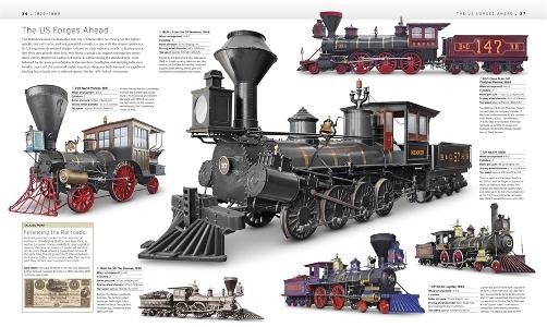 The Train Book - Definitive Visual History (9781409347965